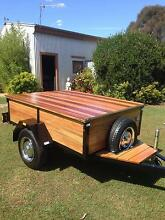 Classic 60's Fully Restored Aussie Hard Wood Trailer Torquay Fraser Coast Preview