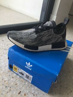 Wanted: Size 10 US - Adidas NMD Oreo/Black Glitch Camo - REAL