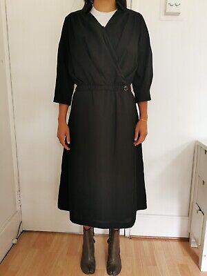 Women's Black Midi dress Cotton Issey Miyake/ Yohji Yamamoto style
