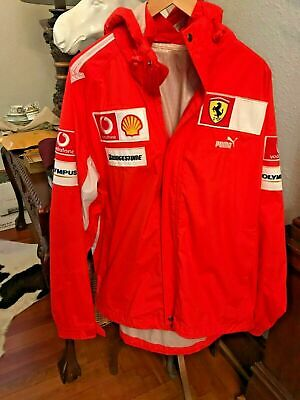 Ferrari Puma Racing Insulated Jacket XL Shell Bridgestone F1 328 348 355 360 430