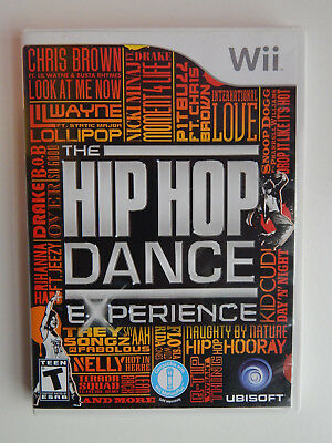 The Hip Hop Dance Experience Game Complete! Nintendo (Hopping Games)