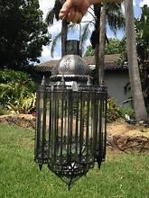 New Iron and Glass Lantern 900mm Peakhurst Heights Hurstville Area Preview