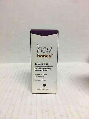 Hey Honey Take It Off - Exfoliating Honey Peel Off Mask, 1.7 oz./50ml