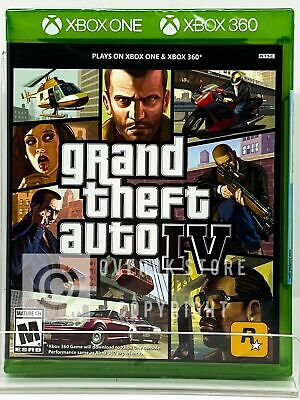Grand Theft Auto IV - Xbox 360 / Xbox One - Brand New   Factory Sealed