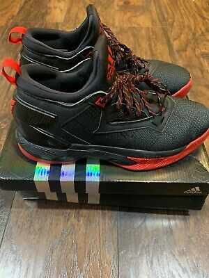 Adidas D Lillard 2 Men's Basketball Sneakers/Trainers Size 9 PRE-OWNED F37124