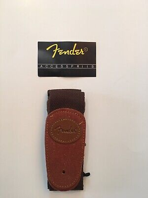 Fender Classic Electric Guitar Bass Strap Brown