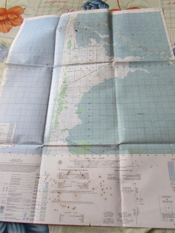 US, ARMY_MACV map _SOUTH VIETNAM_MEKONG DELTA_XOM GIUA