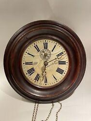 Antique Black Forest Wall Clock/ Postman's Clock