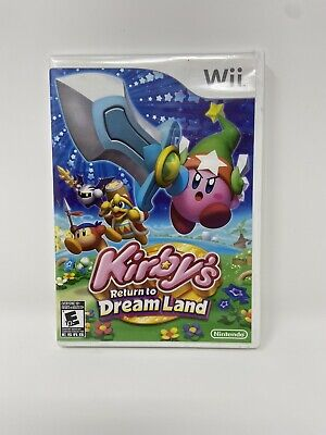 Kirby's Return To Dream Land (Nintendo Wii, 2011) Tested Complete