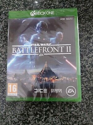 XBOX ONE GAME - STAR WARS - BATTLEFRONT 2 - NEW & SEALED