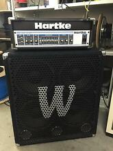 Hartke 500W Bass Head unit and Warwick 300W 4x10 cab Ascot Belmont Area Preview