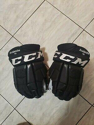 6aa67b55413 Nathan Mackinnon pro return pro stock hockey gloves