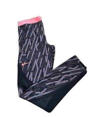 Ladies Nike Pro Hypercool Workout Gym Leggings Size Large