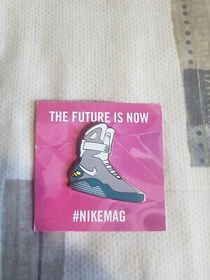 2011 Back To The Future Marty Mcfly Nike Air Mag The Future Is Now Pin
