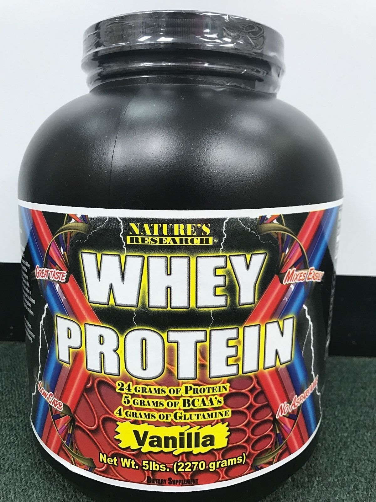 whey protein 5lb