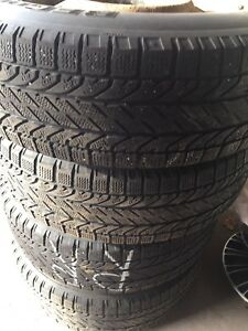 215 70 16 BF Goodrich Winter Tires and Rims