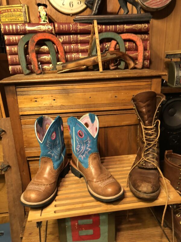 Ariat Womens Fatbaby Cowgirl Boot 8.5B VERY NICE