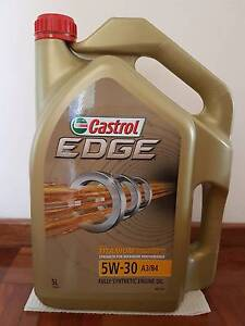 Castrol Edge 5W-30 Engine Oil 5 Litres Moorebank Liverpool Area Preview