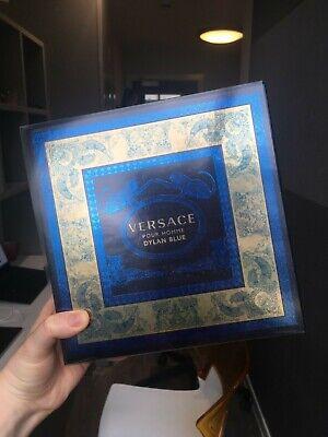 NEW Versace Dylan Blue Pour Homme Gift Set-30ml eau de toilette+50ml shower gel