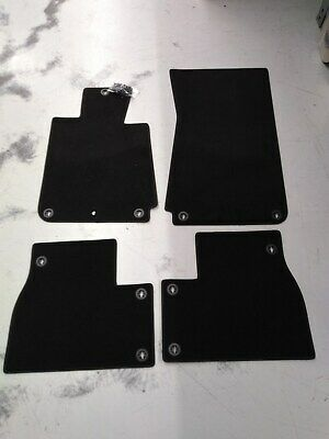BMW OEM Black Carpeted Floor Mats E30 3 Series Sedans, Coupes 51471911407