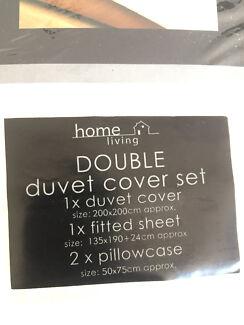Duvet cover set  Ivory