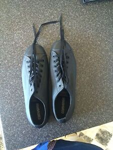 Men's black Converse Chuck Taylor All-Stars leather Ascot Park Marion Area Preview
