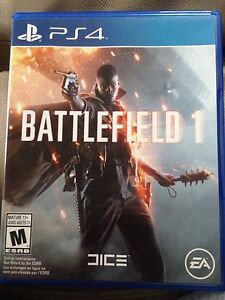 Battlefield 1 PS4 only 45$