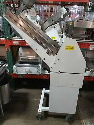 Berkel Gmb 716 Commercial Bread Slicer W Stand New Blades