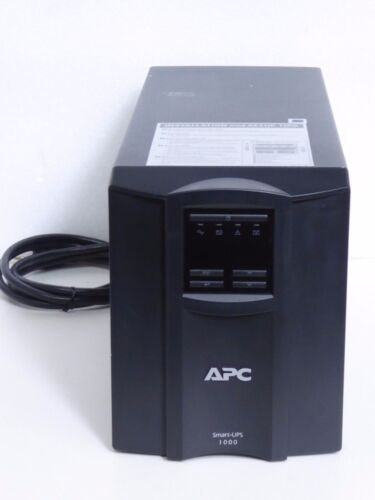 APC Smart-UPS 1000 LCD Power Back Battery Model: SMT1000 Batteries Not Included