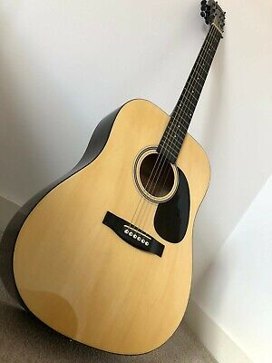 *Great Condition* Stagg Handmade Acoustic Guitar (With Case, Tuner and Strings)