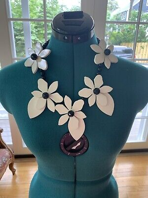 NWT KATE SPADE LOVELY LILLIES NECKLACE  Just Beautiful Retail $248