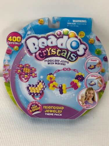 Beados Crystals Friendship Jewelry Theme Pack Kit Age 4+