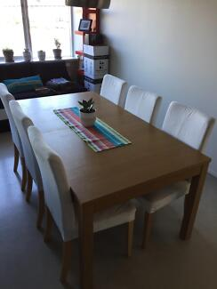 Dining table and 6 chairs have to go by SaturdayDining Tables