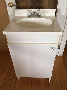 Small sink and vanity