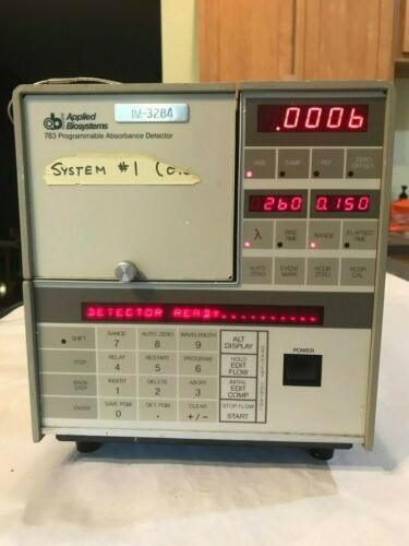 Applied Biosystems 783 Programmable Absorbance Detector