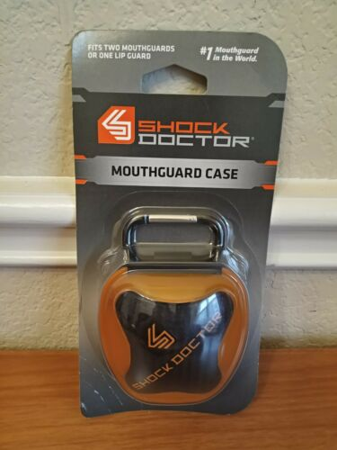 Shock Doctor Mouth Guard Case, ORANGE