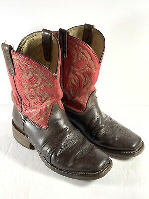 Double H Mens Square Toe Ice Roper Western 12B Boots DH3556