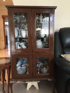 Timber & Glass Cabinet Westleigh Hornsby Area Preview