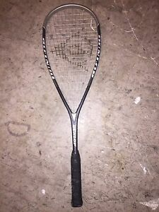 Used  tennis and squash racquets
