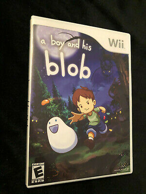 A Boy and His Blob - Nintendo Wii Used