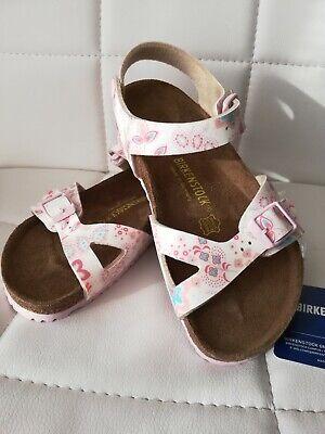 ädchen Sandalen Schuhe Leder Größe 33 Neu (Birkenstock Größe 33)