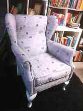 **Urgent. French Style Wingback Armchair Gladesville Ryde Area Preview