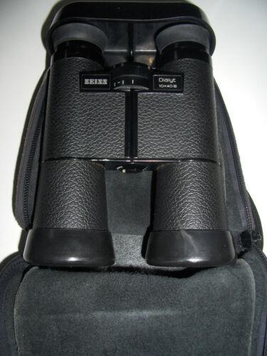 ZEISS 10x40B 10 x 40B DIALYT Binoculars Vintage Clear
