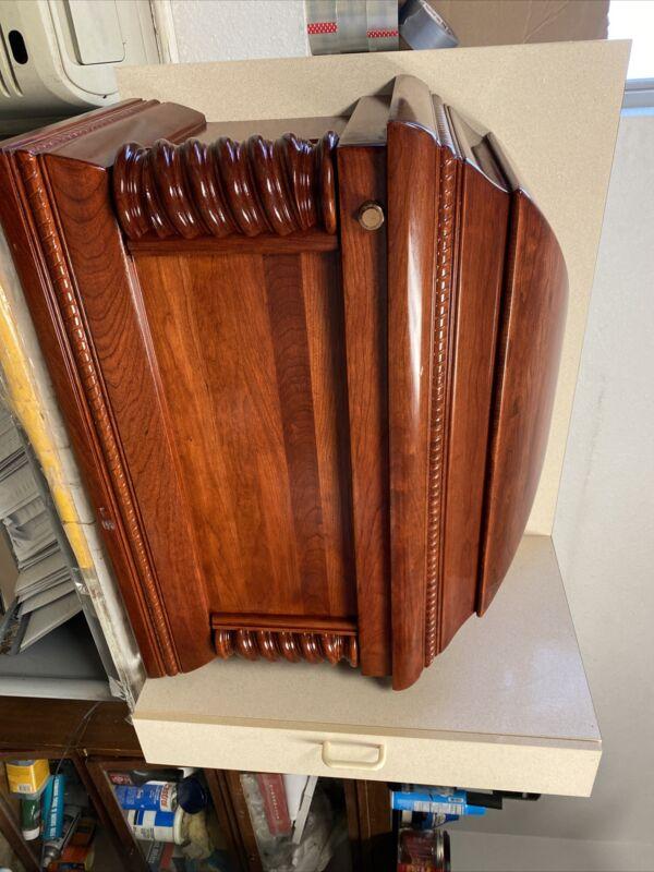 Vintage Funeral Casket Display Halloween (bb06