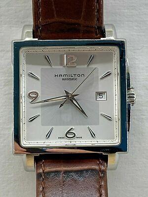 Hamilton Jazzmaster Square Mens Automatic Watch H324150
