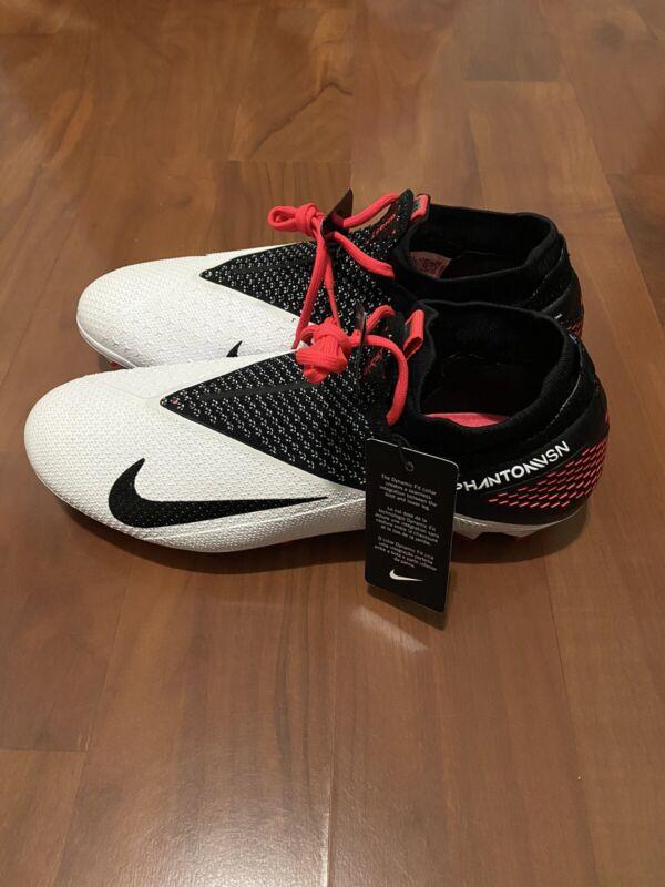 Nike Phantom Vision VSN 2 Elite ACC DF FG Soccer Cleats Mens SZ 9 CD4161-106