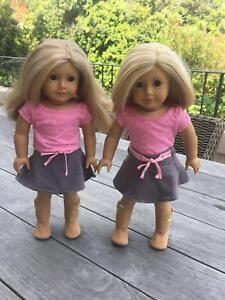 Two American Girl dolls