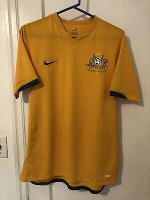 2006 Australia Soccer Jersey Socceroos World Cup Cahill Medium Nike image