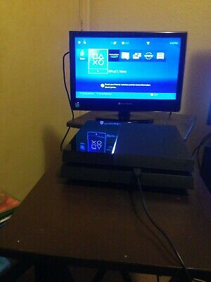 "SONY 500GB BLACK PS4  "" Console Only"".."