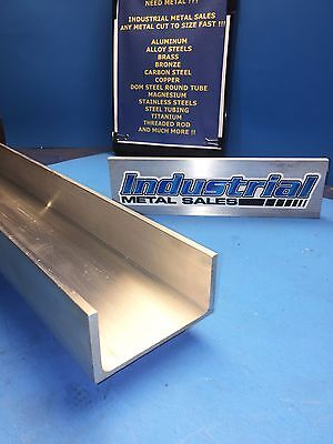 Aluminum Channel 4 X .150 X 2 X 48-long 6061 T6